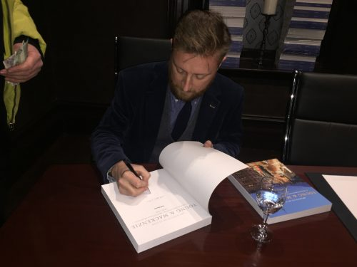 Paul Harron Book Signing 1